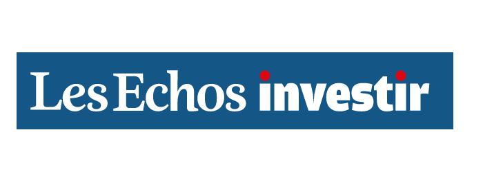 Les ECHOS INVESTIR LOGO GFV FRANCE